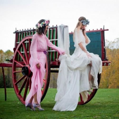 Vogue dedica una fotogalería a las novias vintage