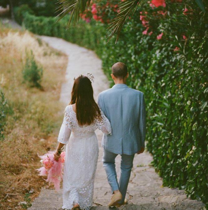 El vestido que eligió  a la novia