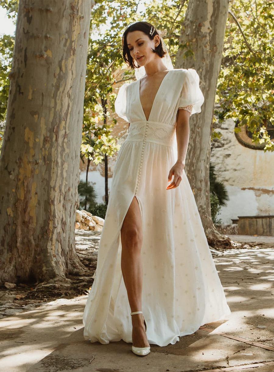 Vestido de novia vintage colección Belvedere